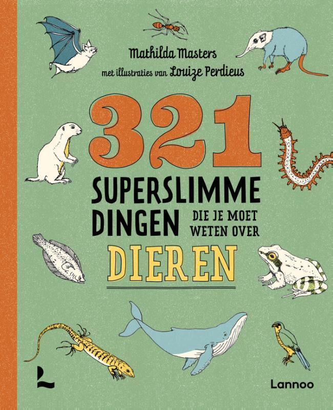 Cover 321 superslimme dingen die je moet weten over dieren