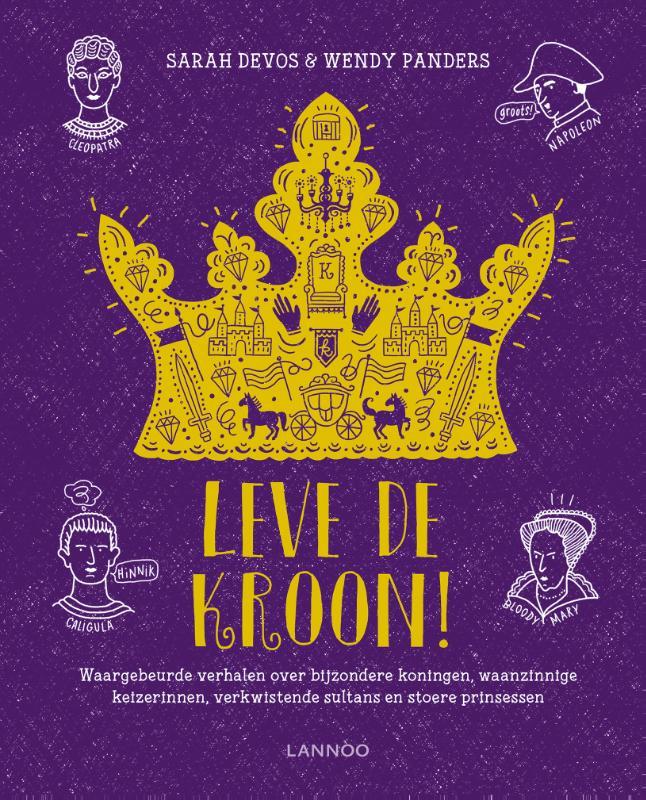 Cover Leve de kroon!