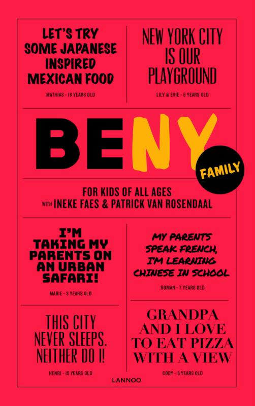 Boek Be Ny Family Geschreven Door Ineke Faes