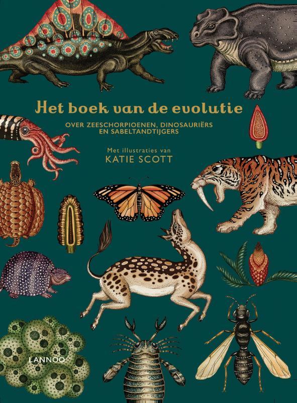 Cover Het boek van de evolutie