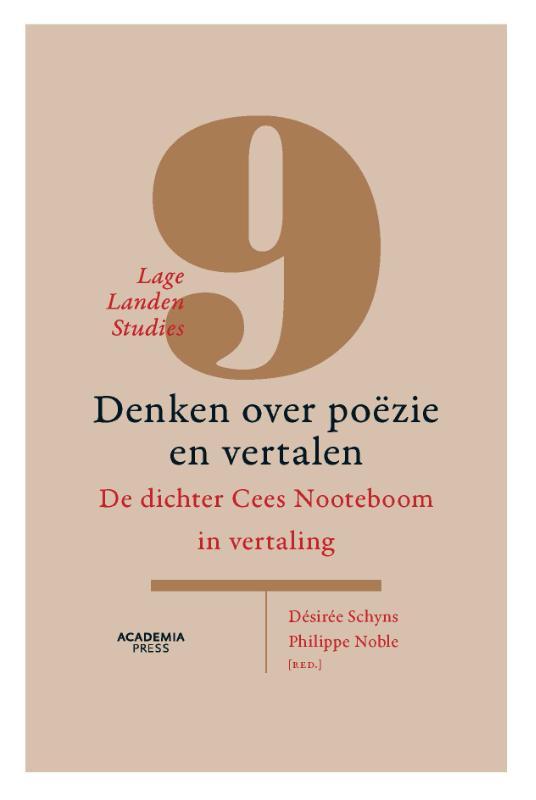 Cover Denken over poëzie en vertalen