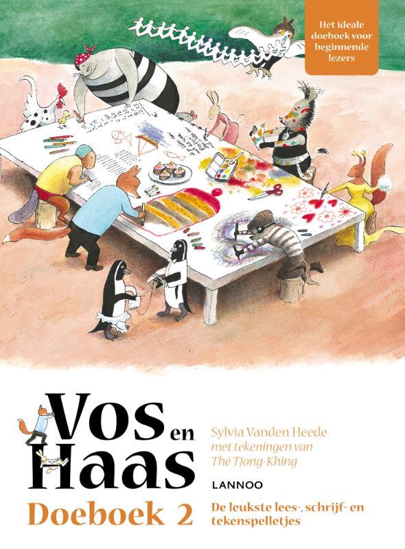 Cover Vos en Haas doeboek 2