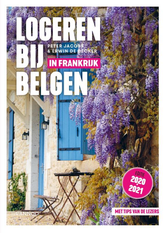 Cover Logeren bij Belgen in Frankrijk