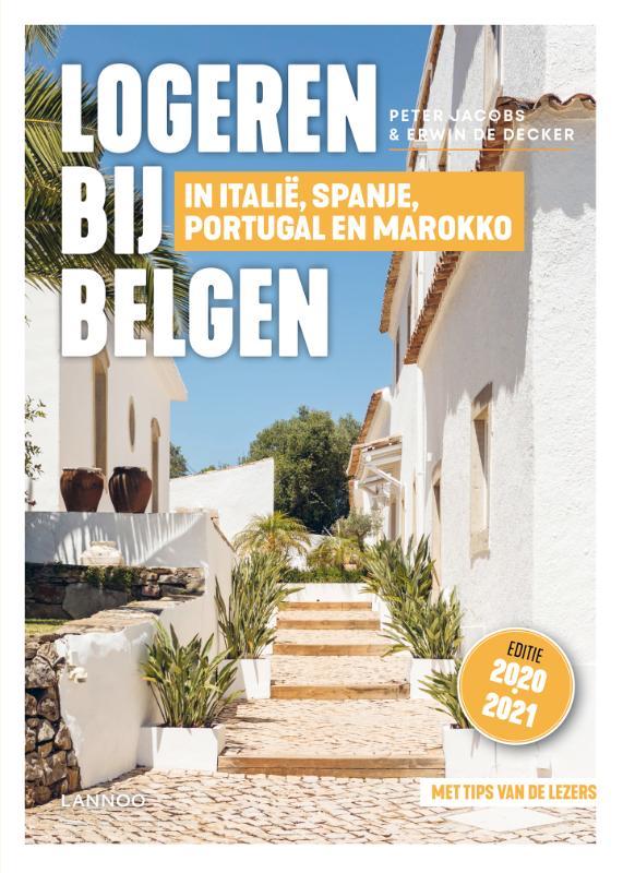 Cover Logeren bij Belgen in Italië, Spanje, Portugal en Marokko