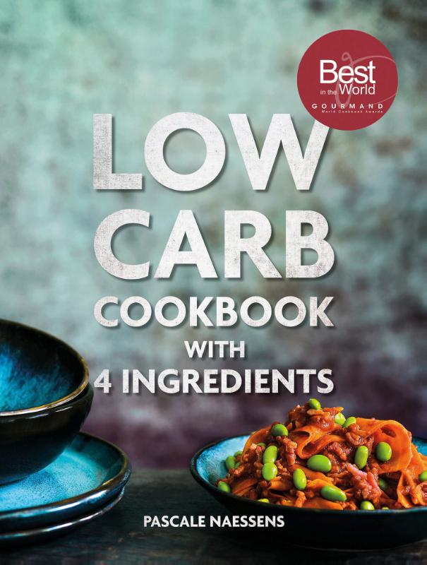 Cover Low carb cookbook 4 ingredients