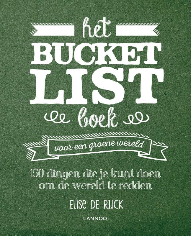 Cover Het Bucketlist boek voor een groene wereld