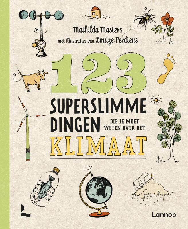 Cover 123 superslimme dingen die je moet weten over het klimaat