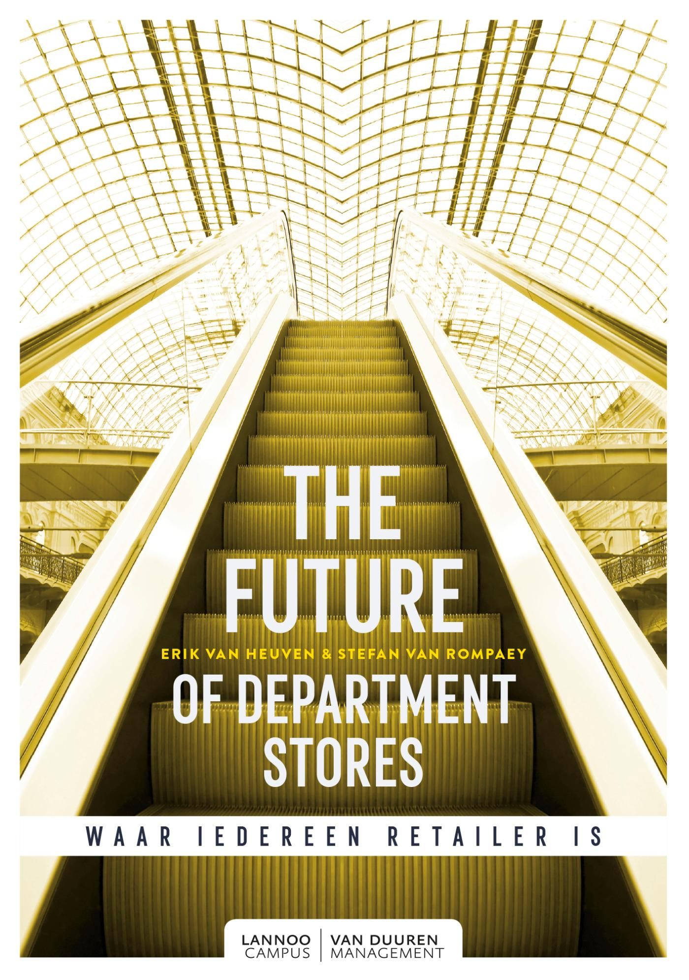 Cover The Future of Department Stores