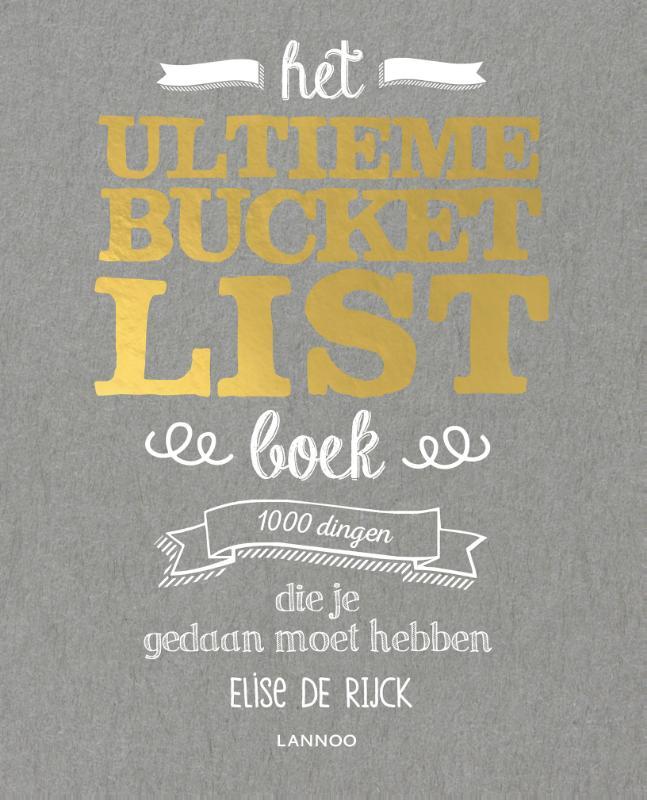 Cover Het ultieme Bucketlist Boek
