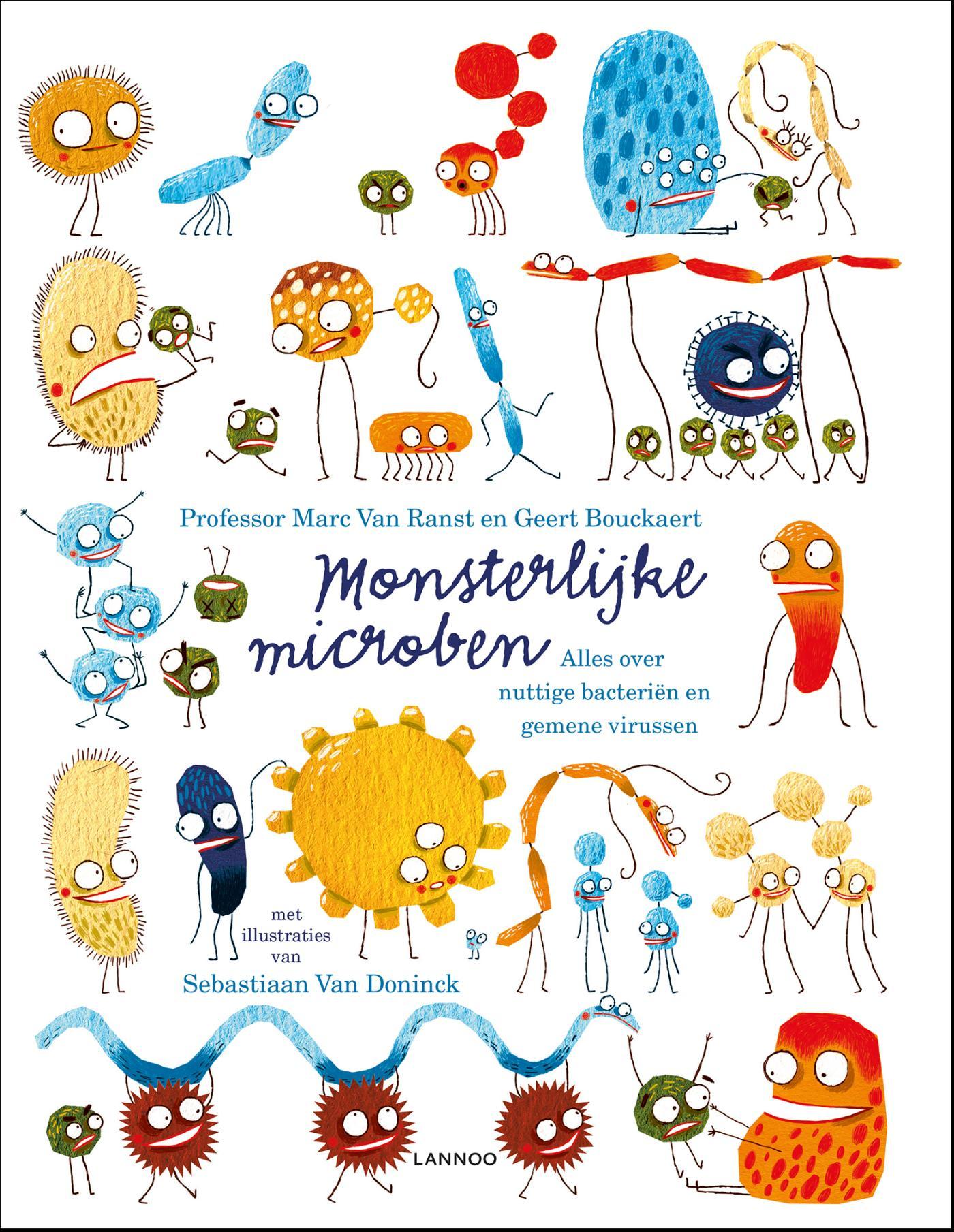 Cover Monsterlijke microben
