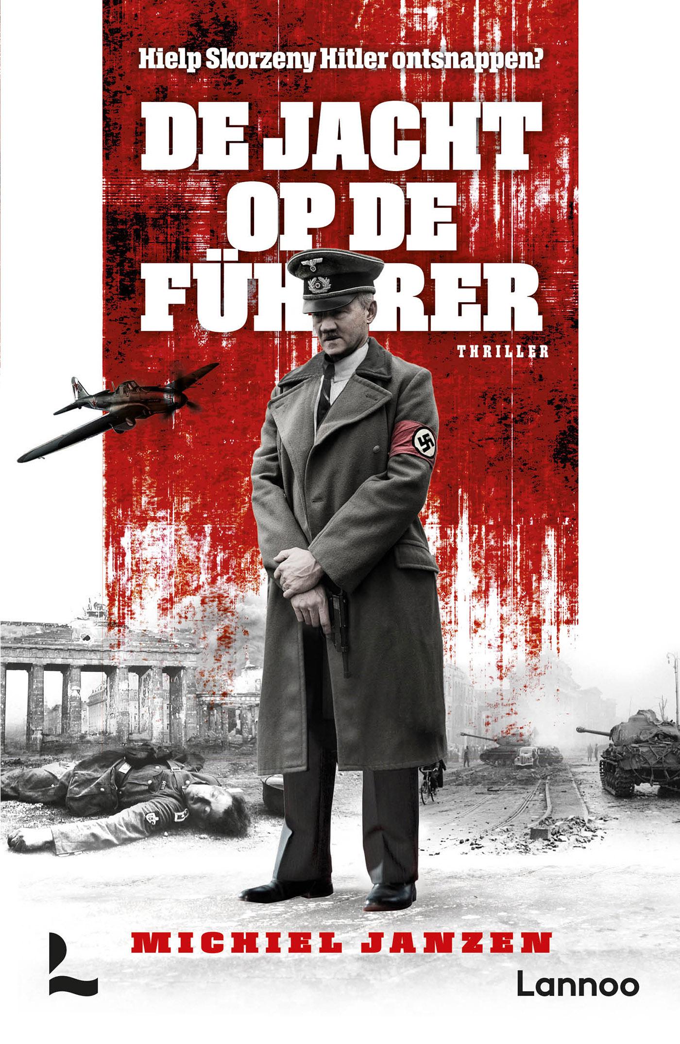 Cover De jacht op de Führer