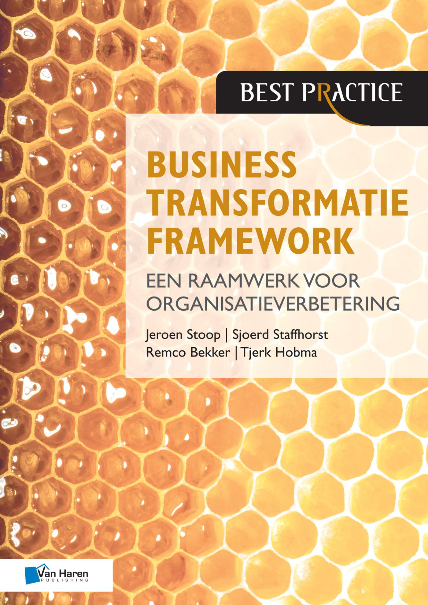 Cover Business Transformatie Framework -