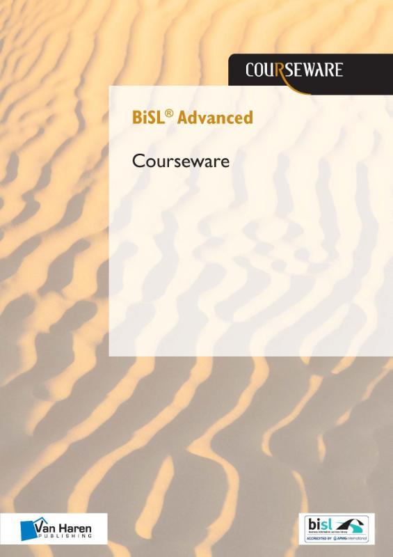 Cover BiSL Advanced courseware