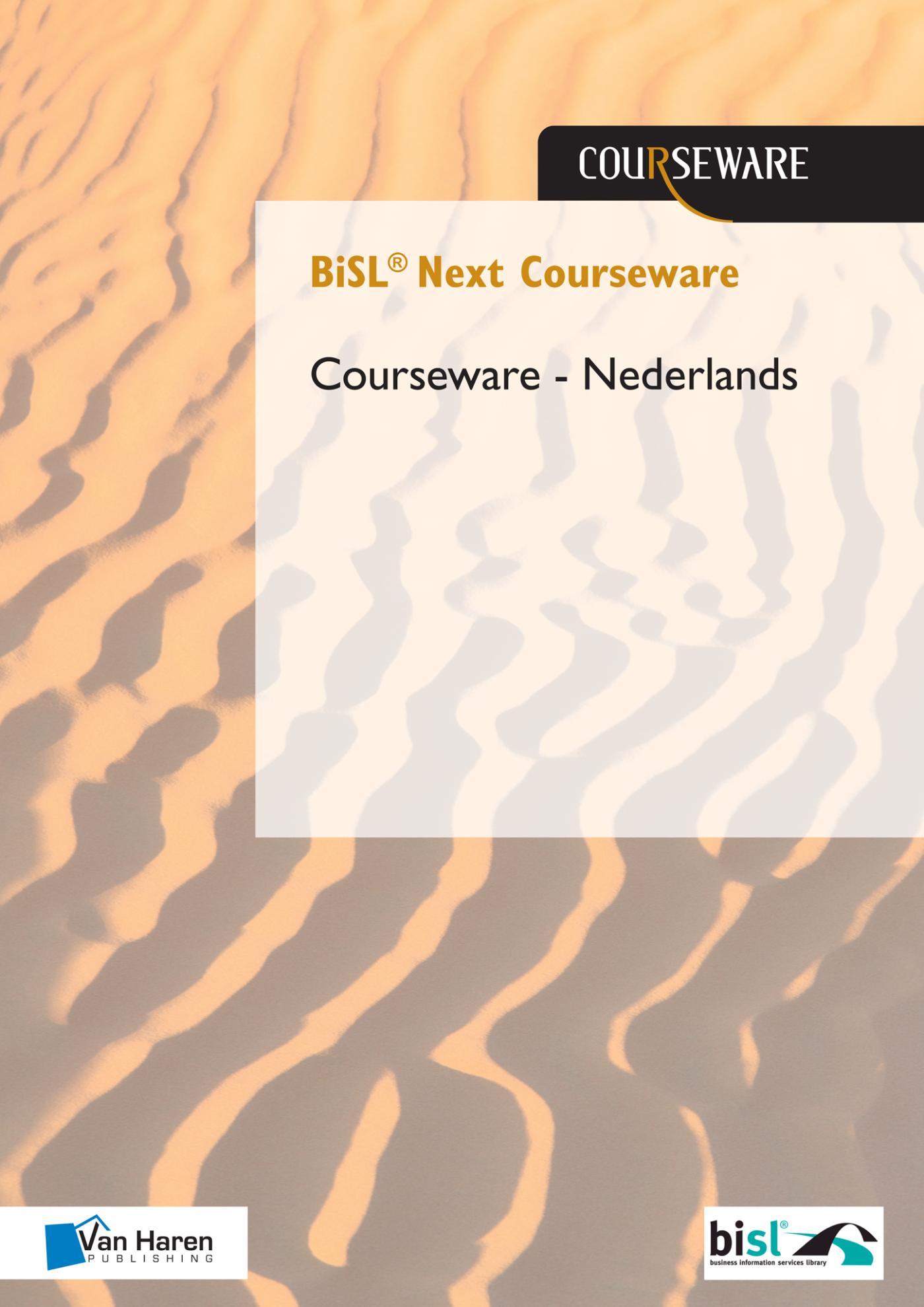 Cover BiSL ® Next Courseware