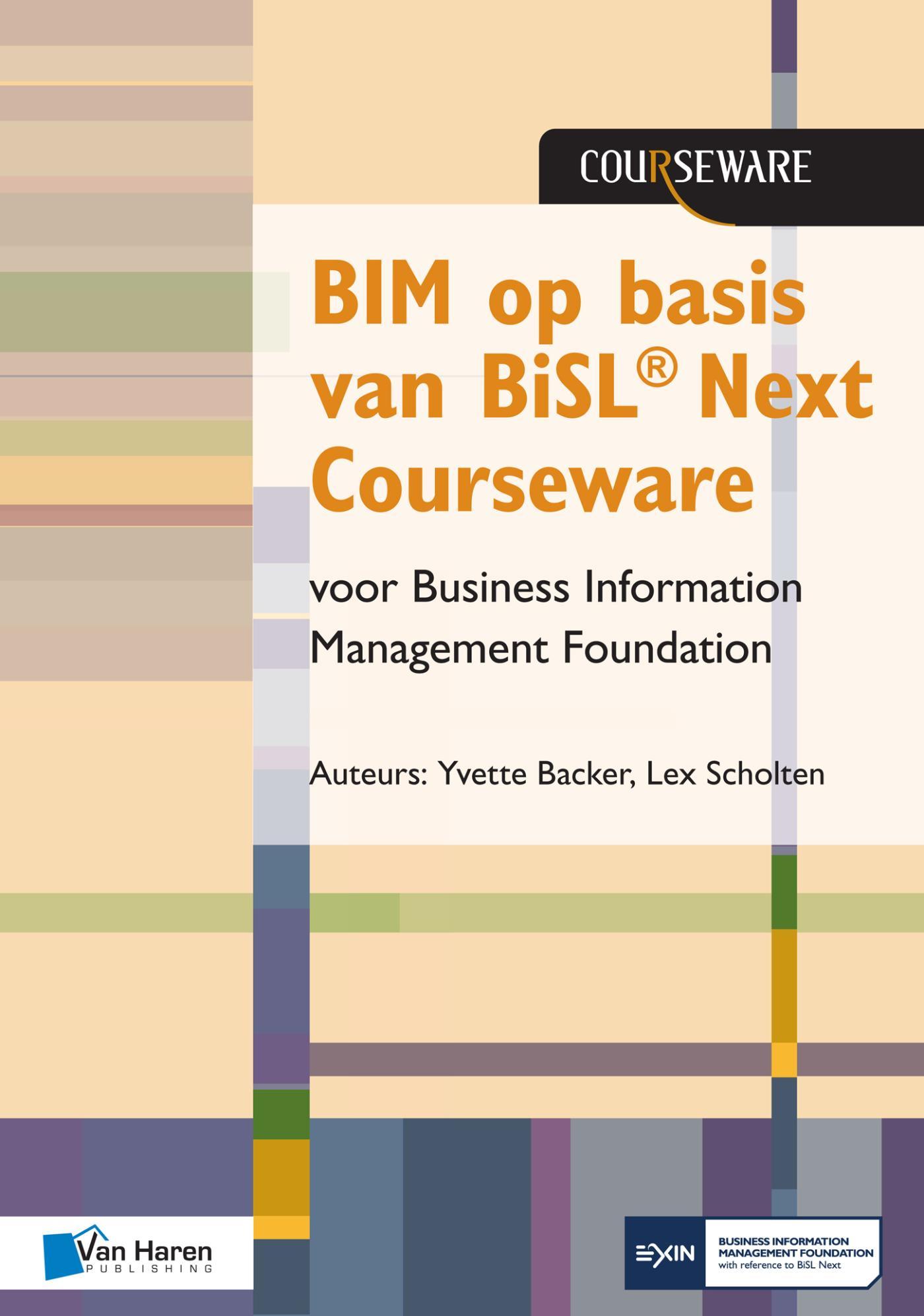 Cover BIM op basis van BiSL® Next Courseware voor Business Information Management Foundation