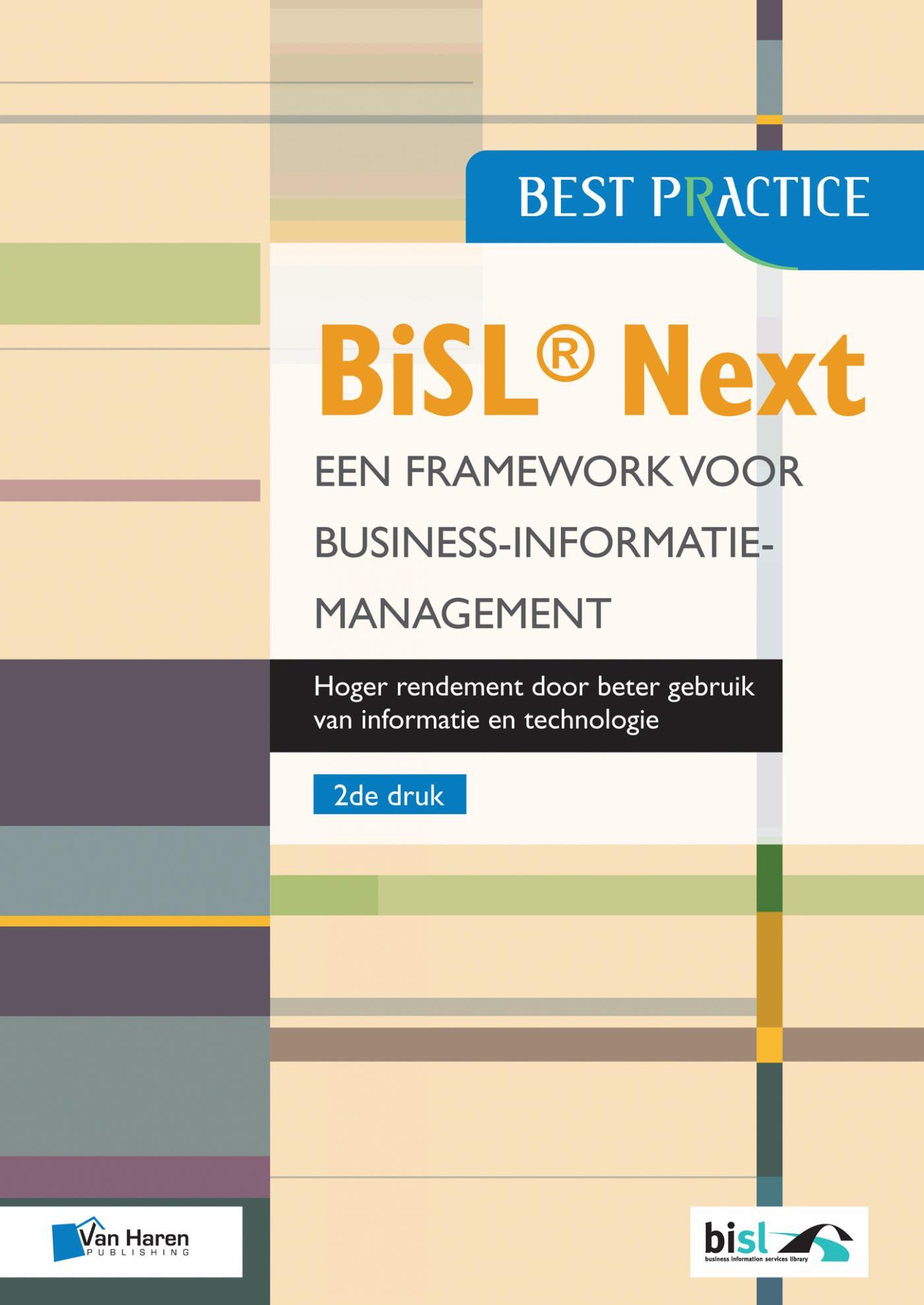 Cover BiSL® Next - Een framework voor Business-informatiemanagement