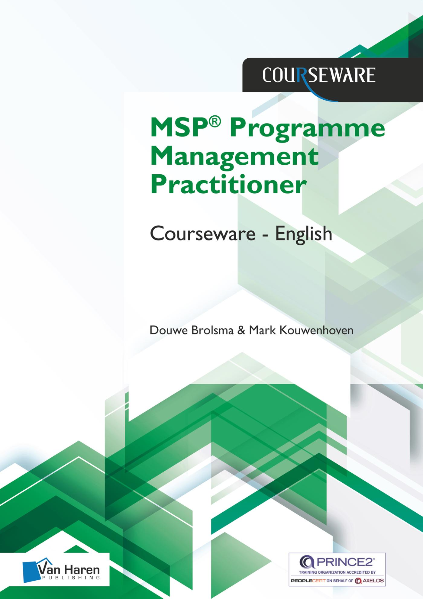 Cover MSP® Practitioner Programme Management Courseware – English