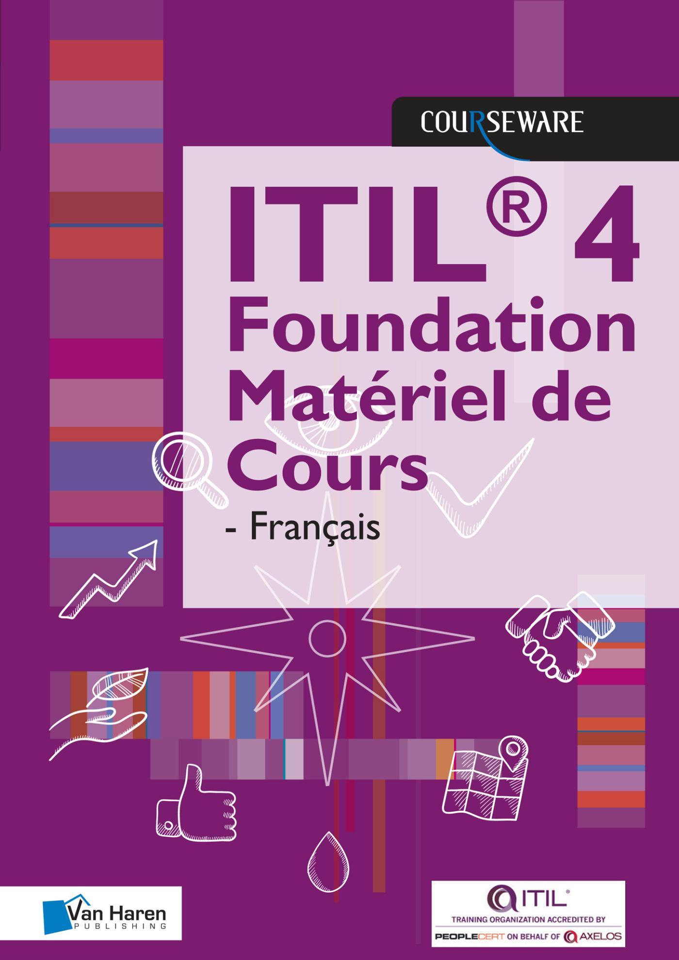 Cover ITIL 4 Foundation Matériel de Cours - Française