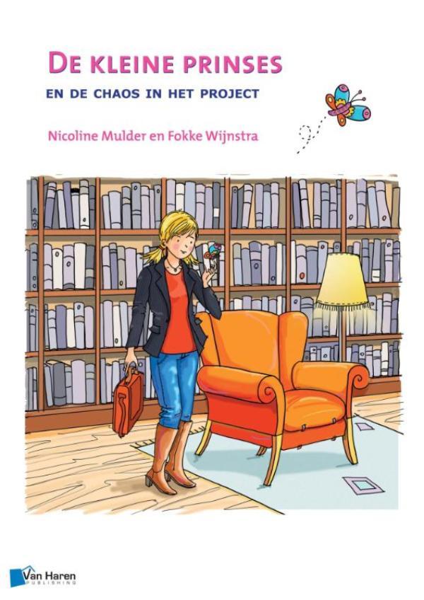 Cover De kleine prinses en de chaos in het project