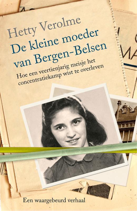 Cover De kleine moeder van Bergen-Belsen