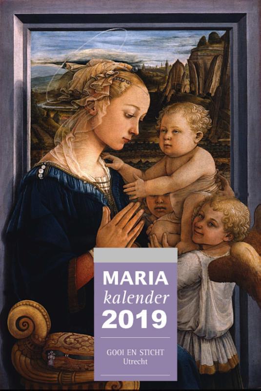 Cover Mariakalender 2019 (set van 3 ex.)