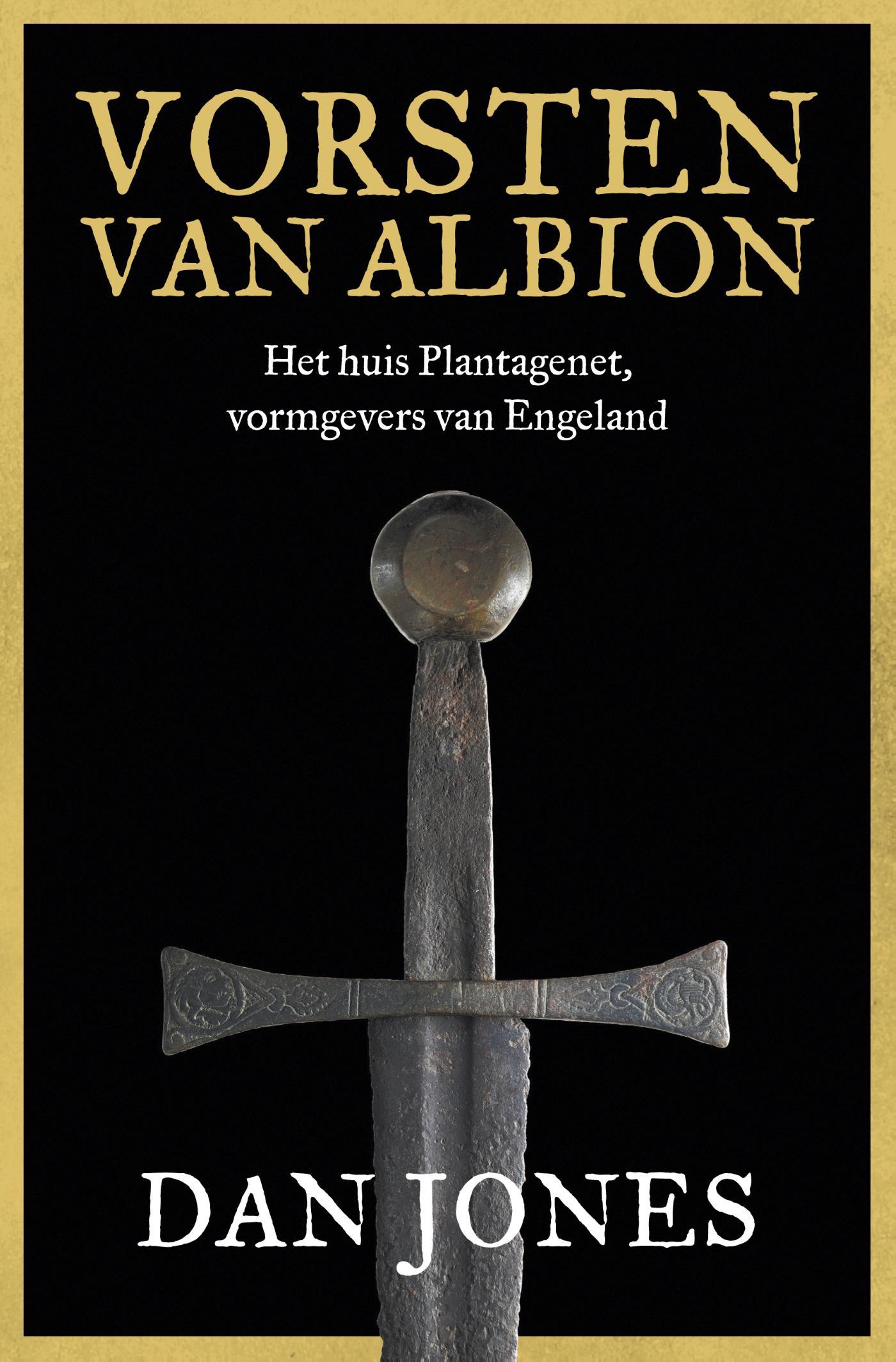 Cover Vorsten van Albion