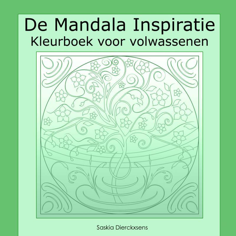 Mandala Kleurplaten Boek.Boek De Mandala Inspiratie Geschreven Door Saskia Dierckxsens
