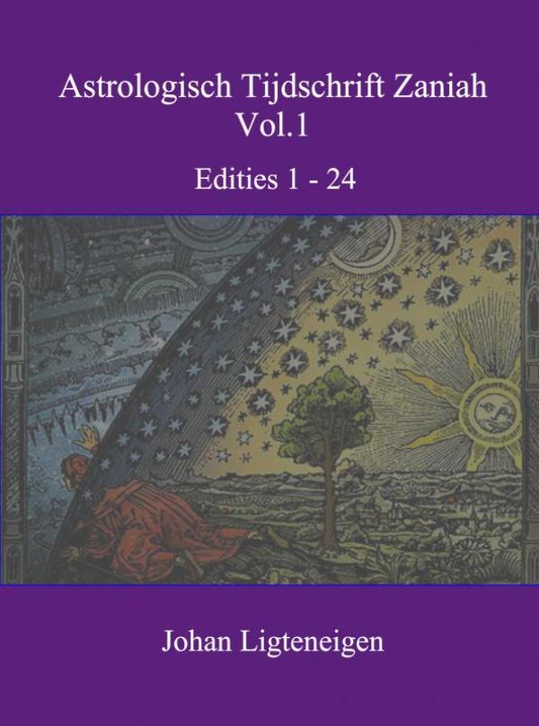 Cover Astrologisch tijdschrift Zaniah vol.1
