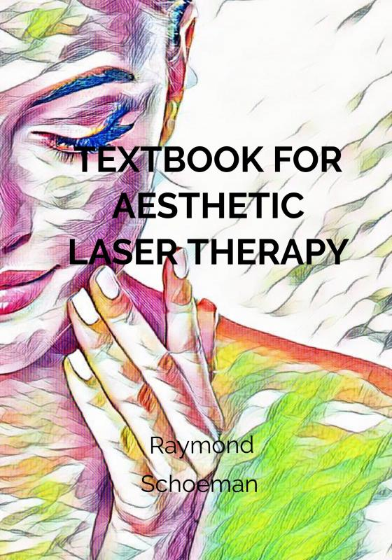 Cover Textbook for aesthetic laser therapy