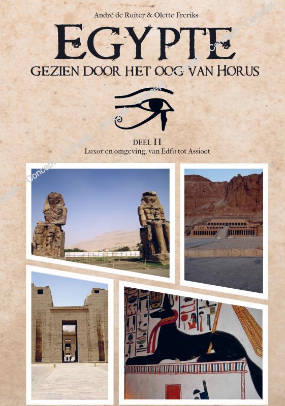 Cover Egypte, gezien door het Oog van Horus