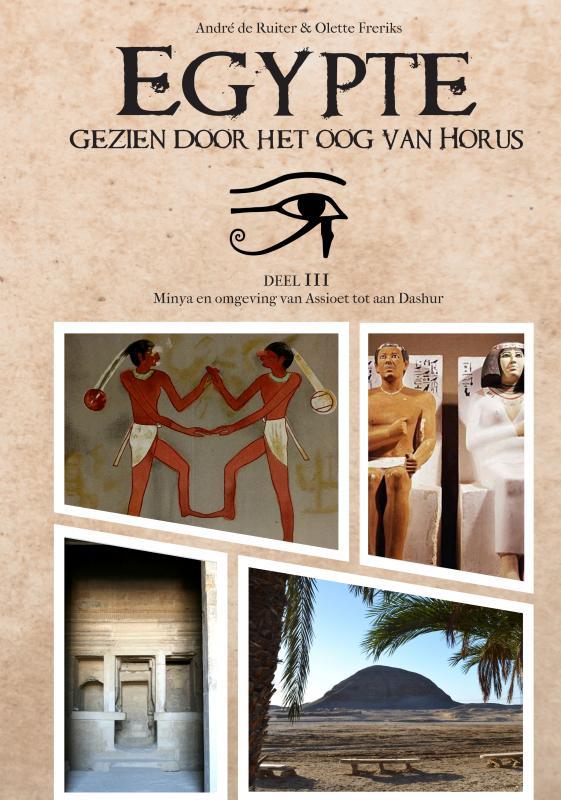 Cover Egypte, gezien door het Oog van Horus.