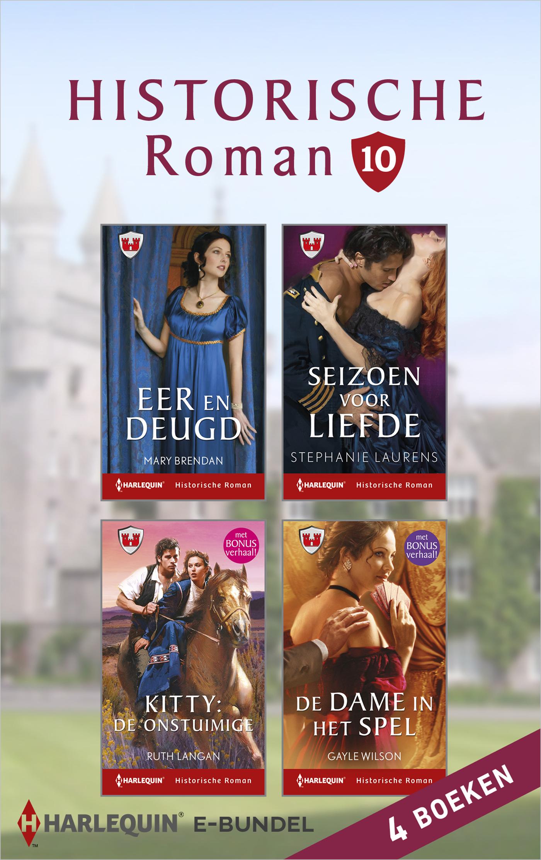 Cover Historische roman e-bundel 10 (4-in-1)