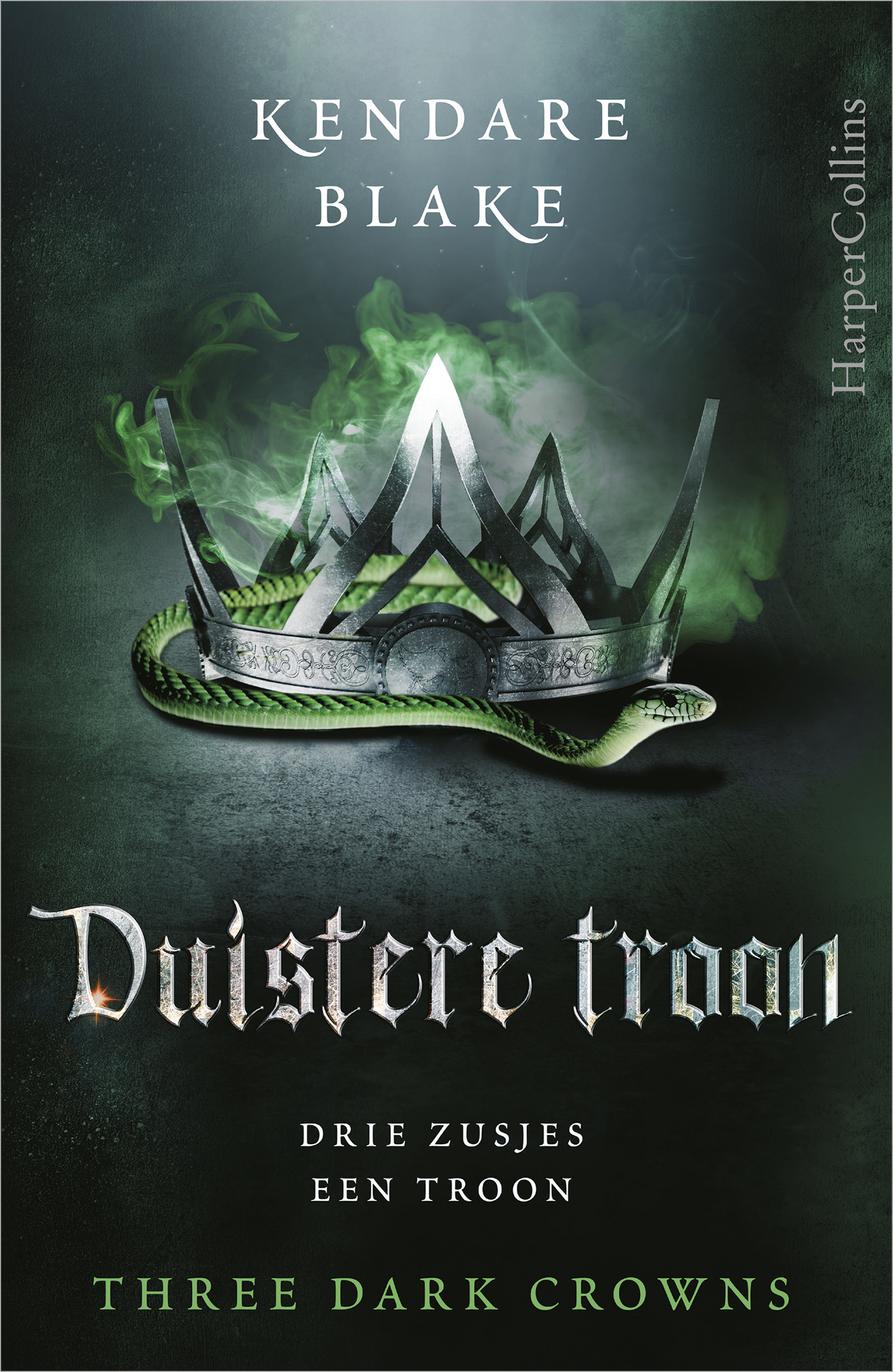 Cover Duistere troon