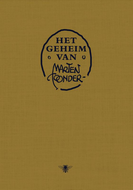 Cover Het geheim van Marten Toonder