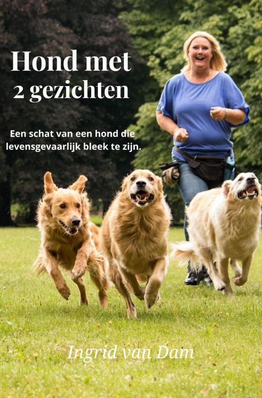 Cover Hond met 2 gezichten