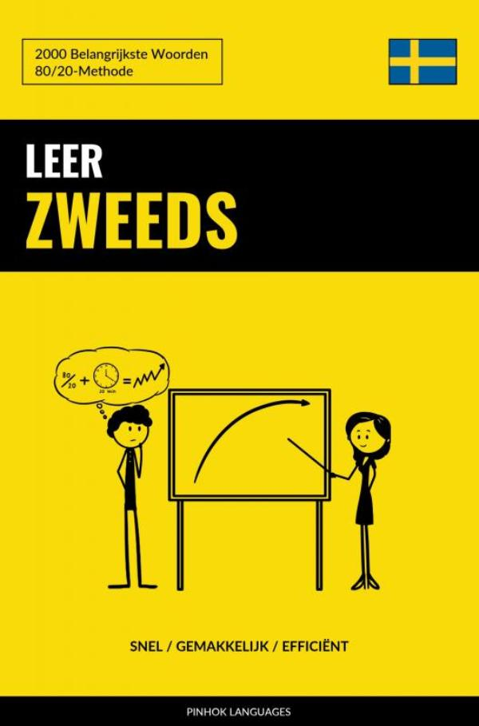 Cover Leer Zweeds - Snel / Gemakkelijk / Efficiënt