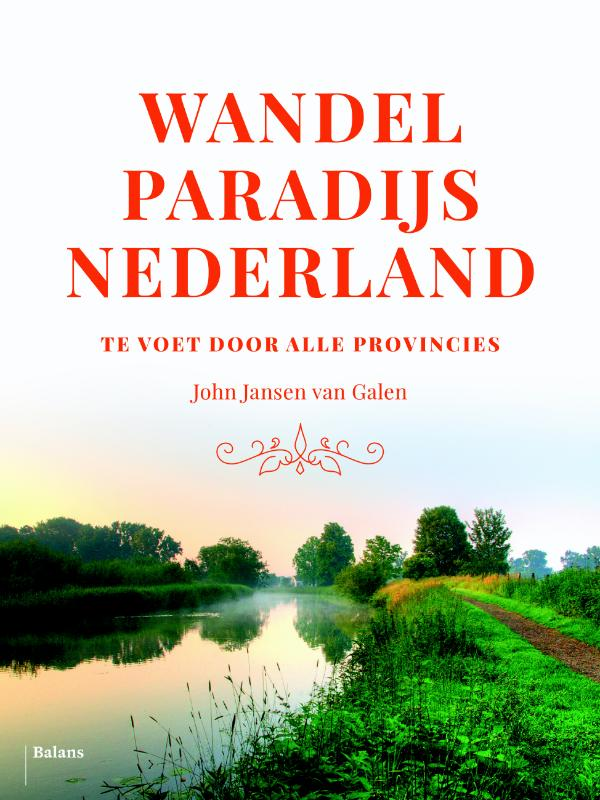 Cover Wandelparadijs Nederland