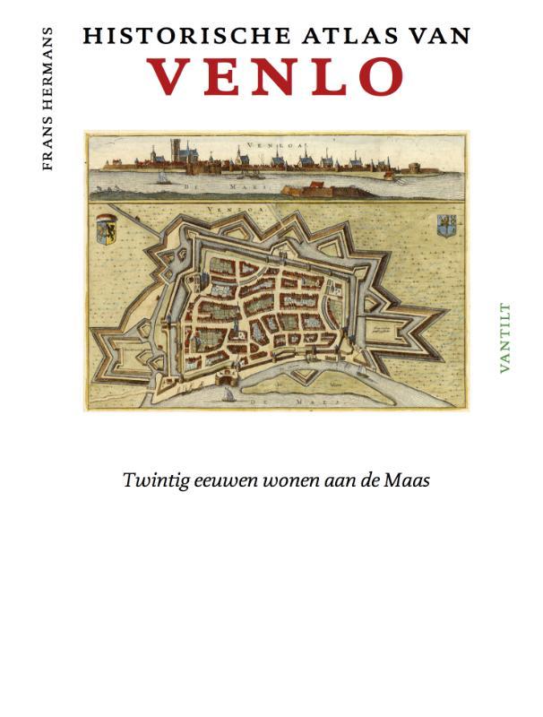 Cover Historische atlas van Venlo