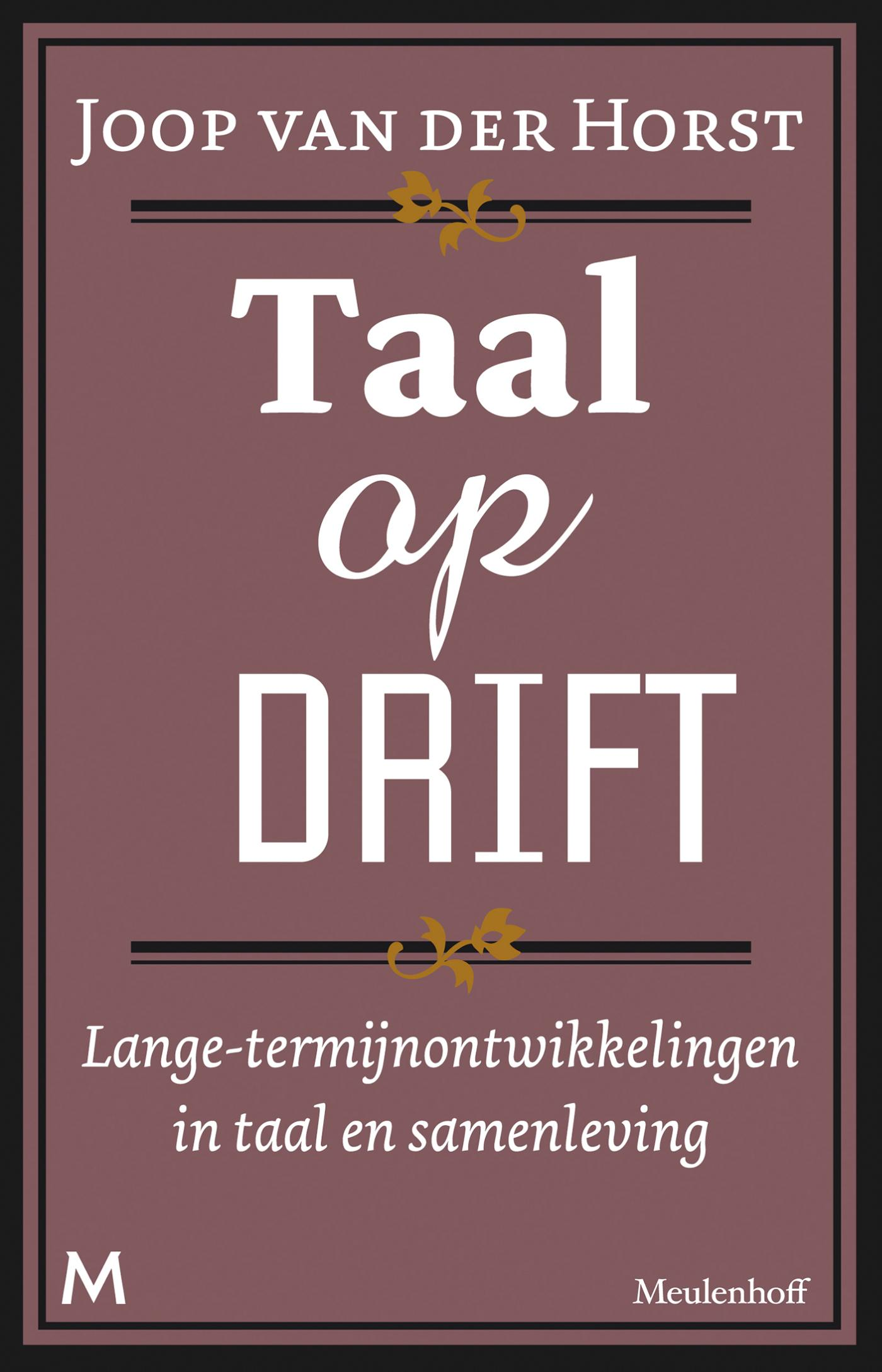 Cover Taal op drift