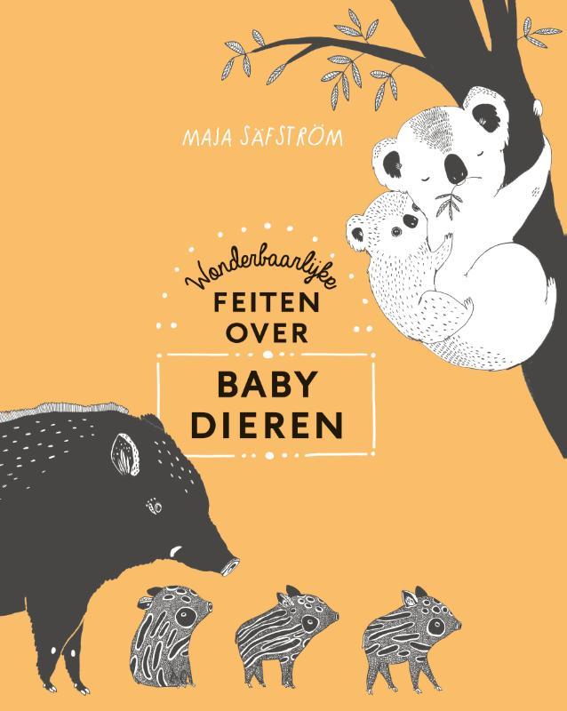 Cover Wonderbaarlijke feiten over babydieren