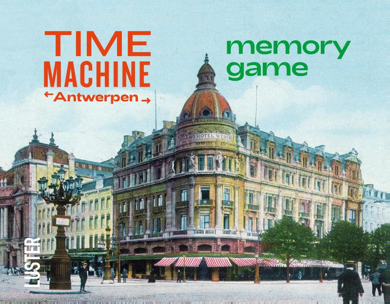 Cover Time Machine Antwerpen Memory Game
