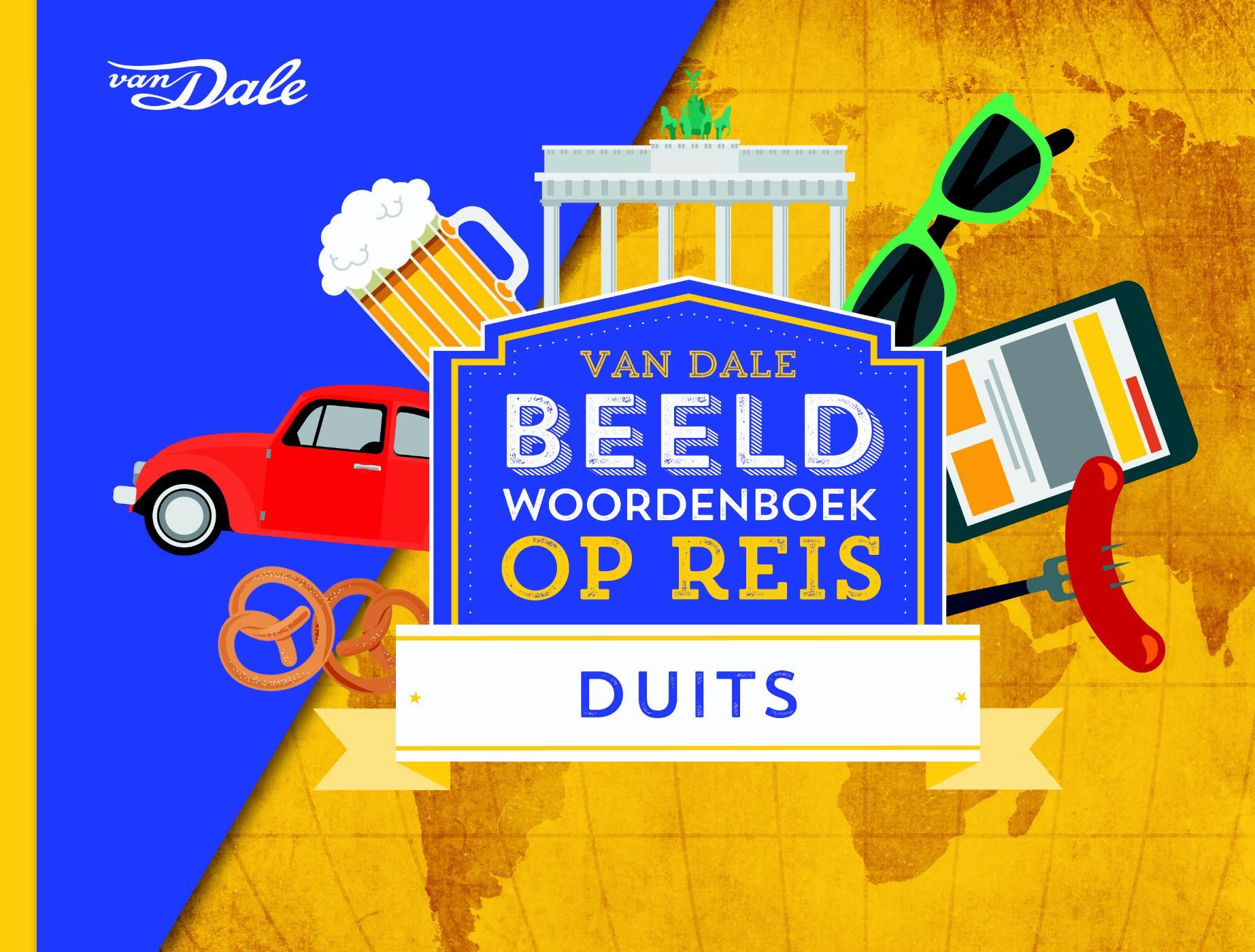 Cover Van Dale Beeldwoordenboek op reis - Duits