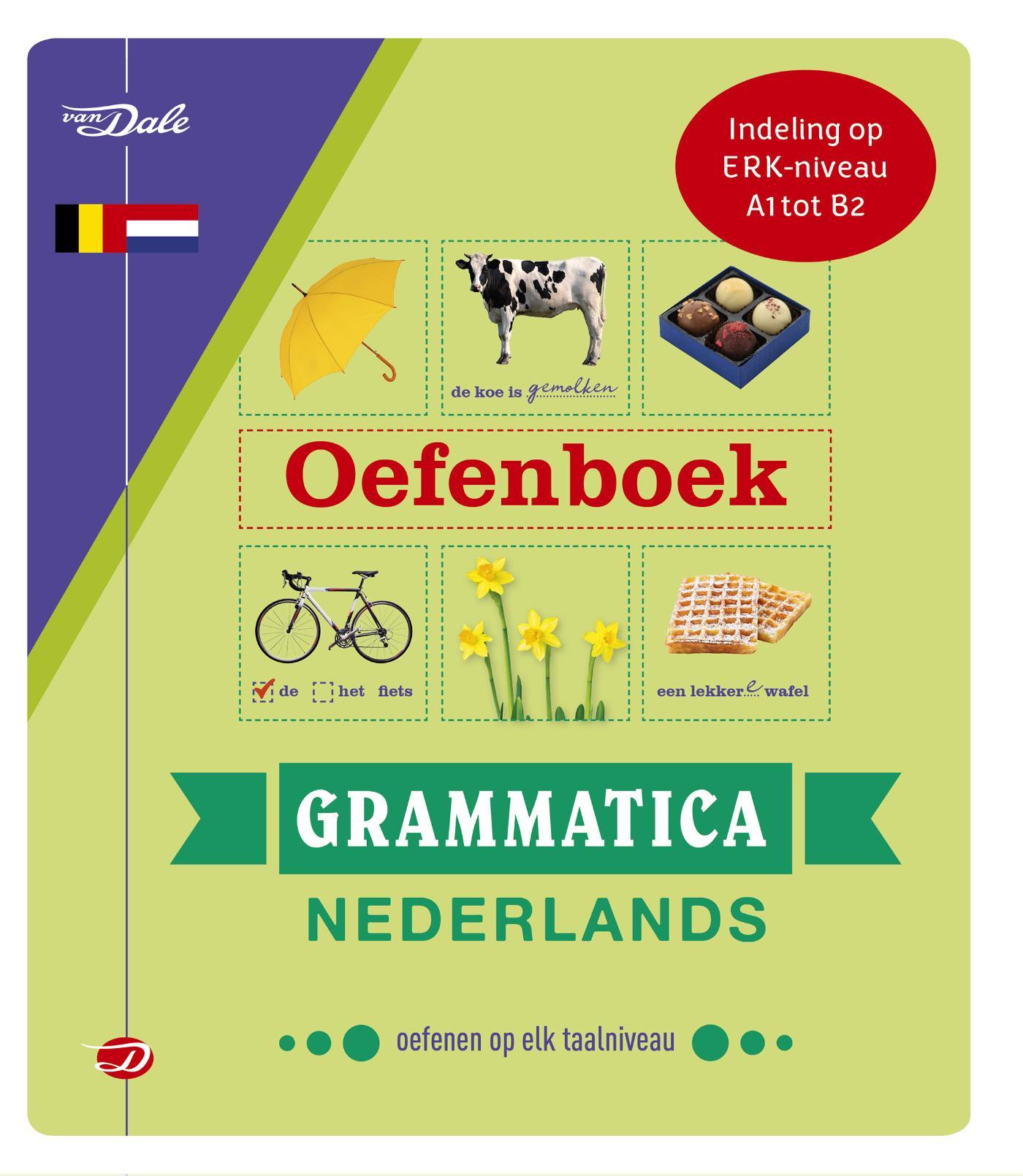 Cover Van Dale Oefenboek Grammatica Nederlands