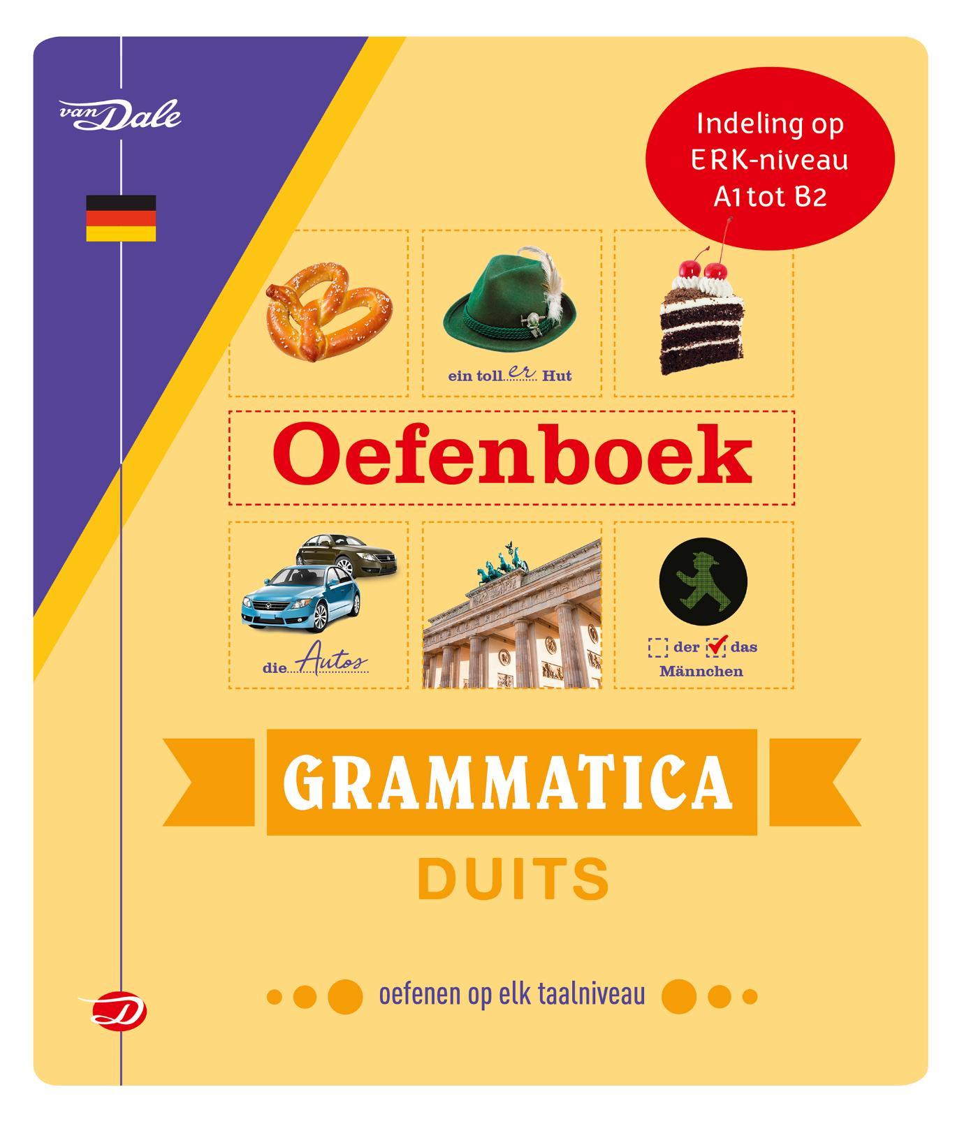 Cover Van Dale Oefenboek Grammatica Duits