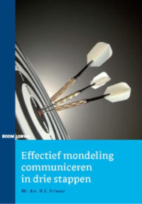Cover Effectief mondeling communiceren in drie stappen