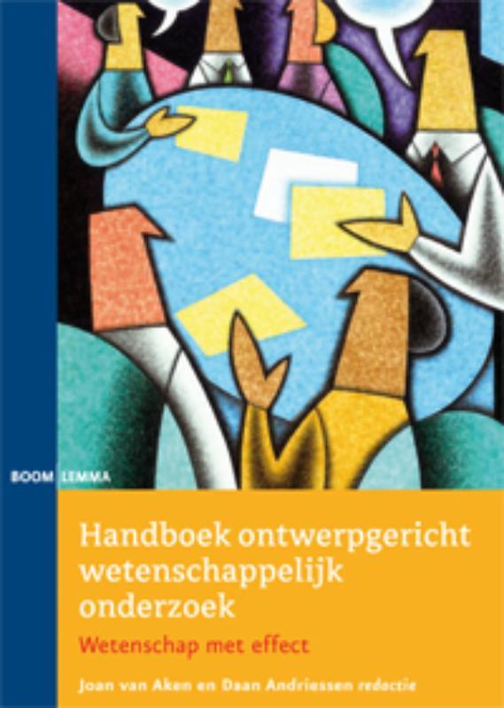 Cover Handboek ontwerpgericht wetenschappelijk onderzoek