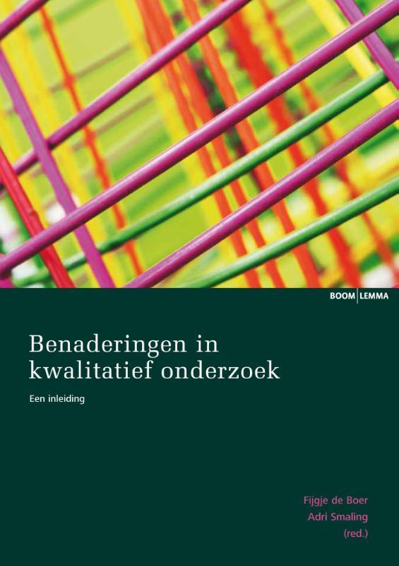 Cover Benaderingen in kwalitatief onderzoek
