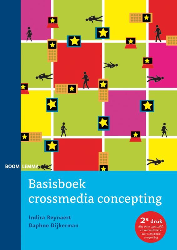 Cover Basisboek crossmedia concepting