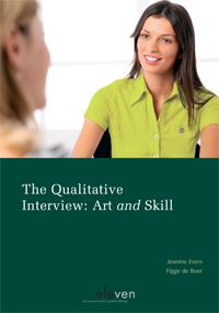 Cover The qualitative interview