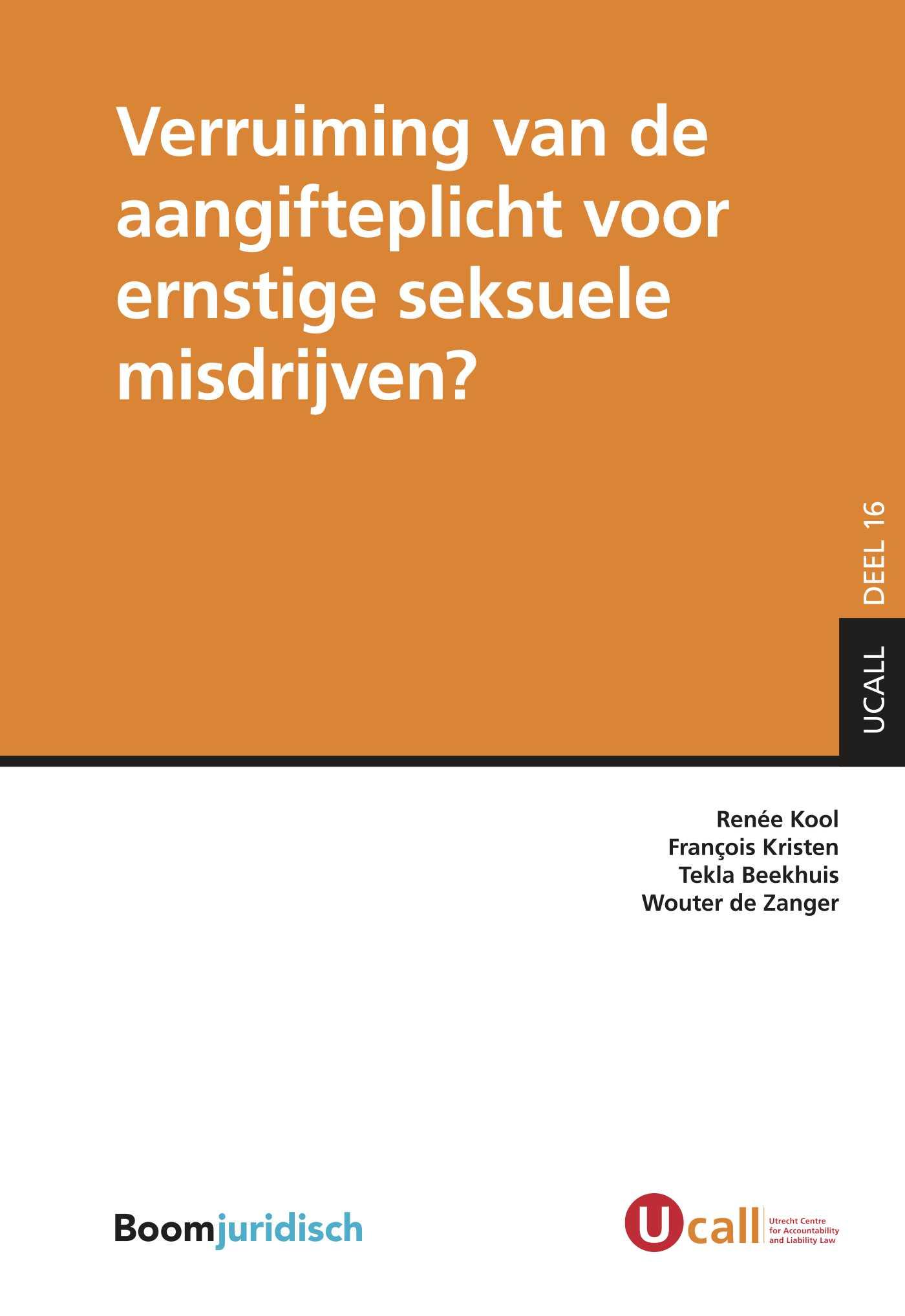 Cover Verruiming van de aangifteplicht voor ernstige seksuele misdrijven?